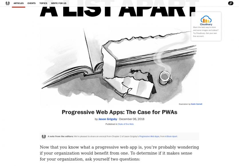 Progressive Web Apps : votre site a t-il besoin d'une PWA ?