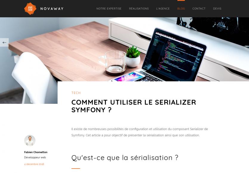 Qu'est-ce que le Serializer Symfony et comment l'utiliser ?