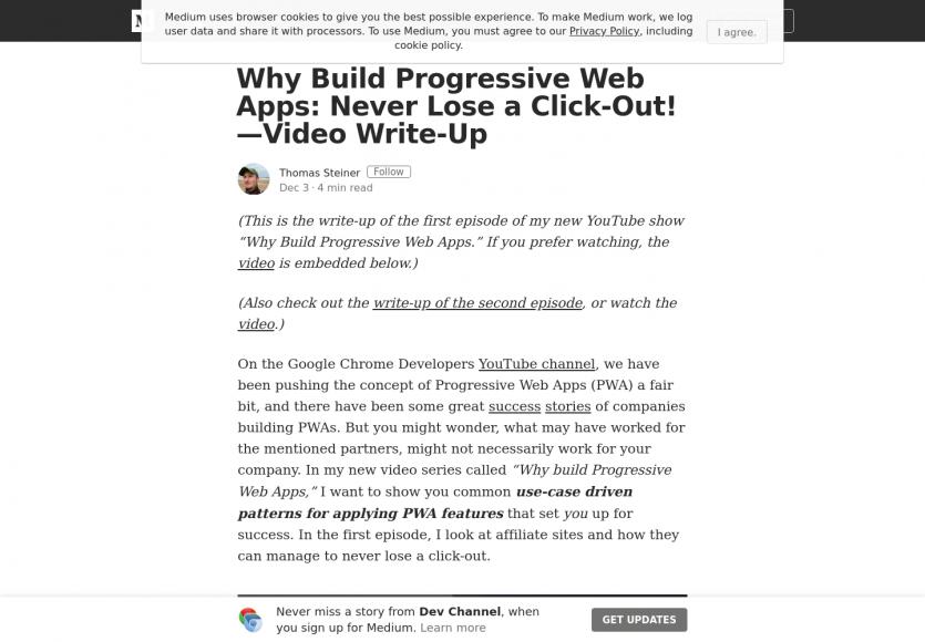 [Tuto vidéo] Pourquoi construire une Progressive Web App (PWA) ?