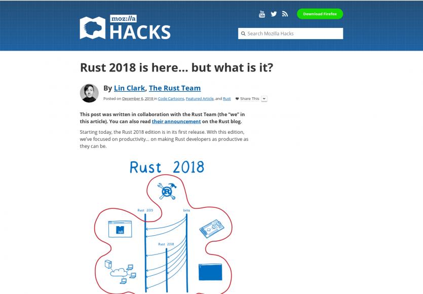 Rust 2018 est là, mais qu'est-ce que c'est vraiment ?