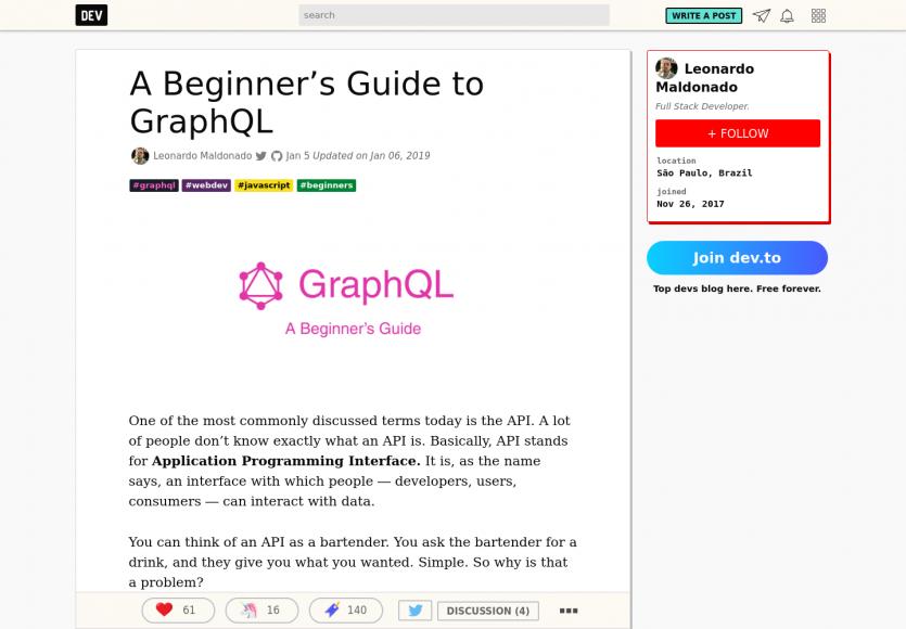 Un guide pour débuter avec GraphQL