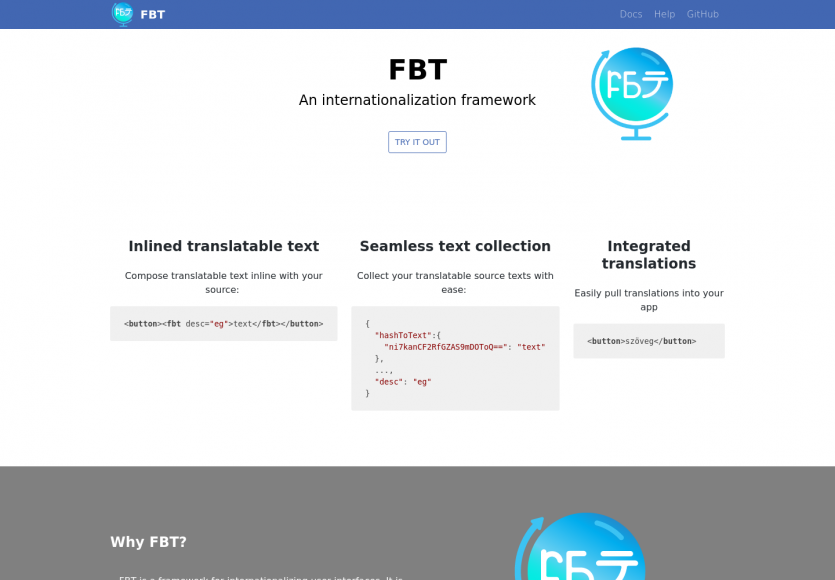 FBT : un framework d'internationalisation pour Javascript