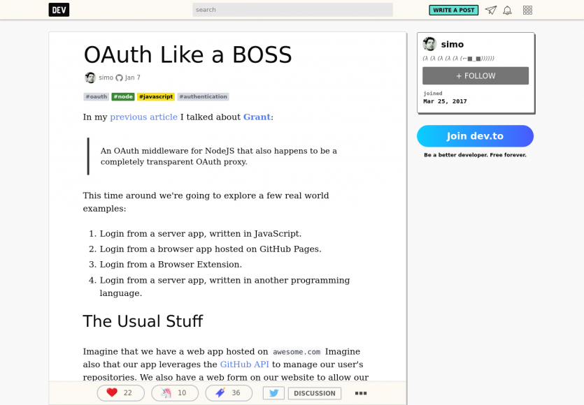 OAuth like a boss en Javascript