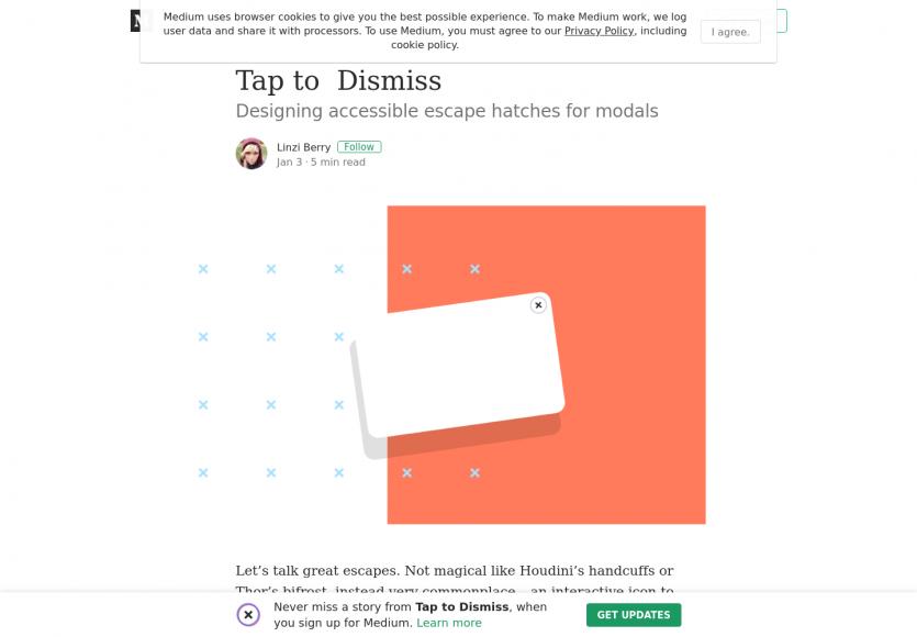 Designer efficacement les sorties de Modal en mobile
