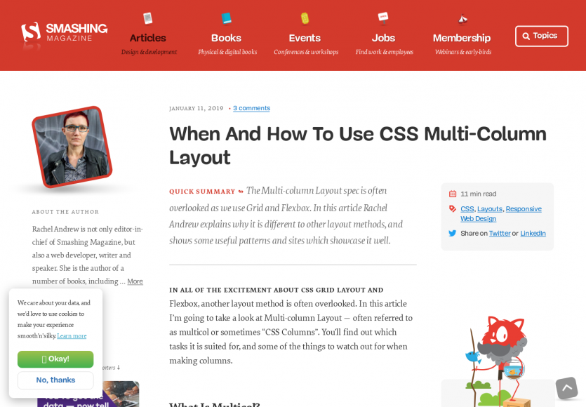 Quand et comment utiliser les Multi-Column Layout en CSS ?