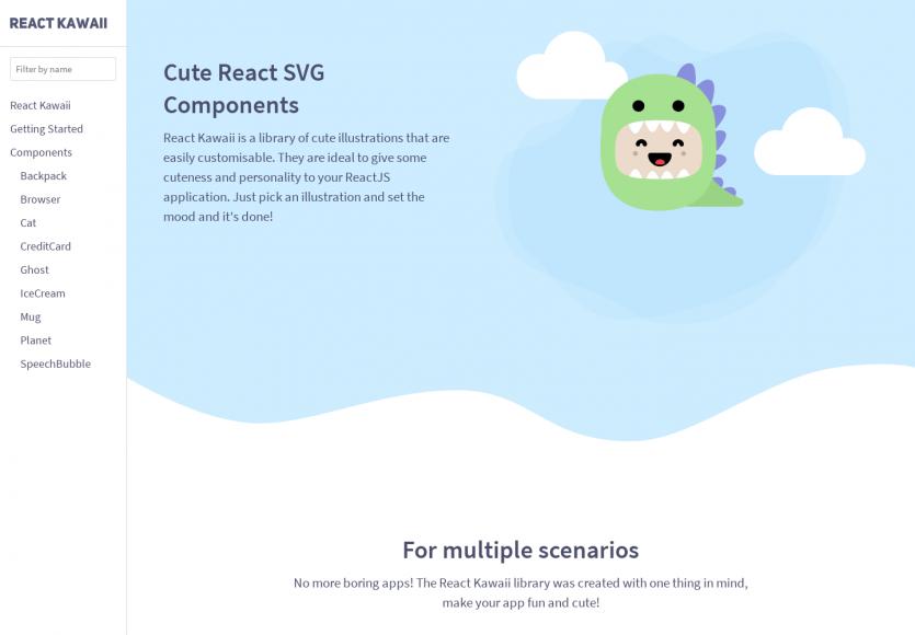 React Kawai : ajoutez des illustrations personnalisables sur vos pages web pour plus de fun