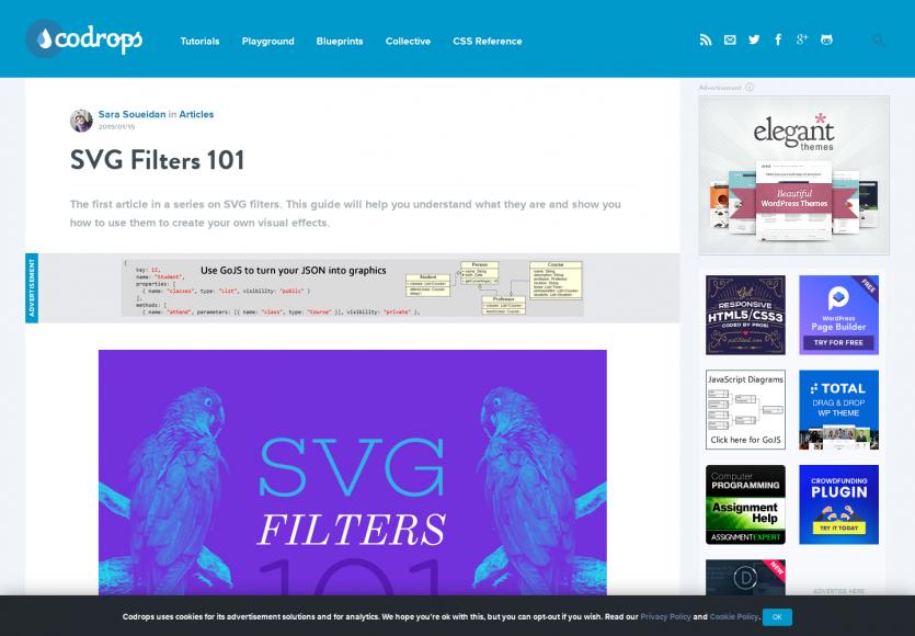 SVG Filters : un guide pour comprendre puis créer ses propres effets visuels en SVG