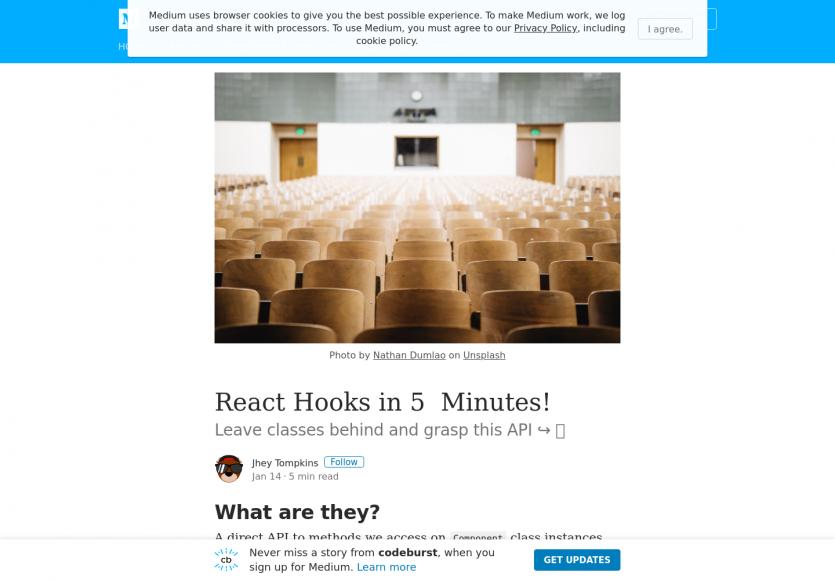 Comprendre les Hooks React.js en 5 minutes