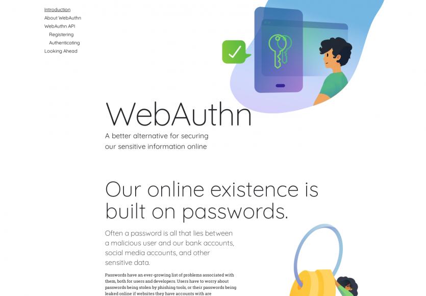 WebAuthn : une alternative de sécurité aux mots de passe traditionnels