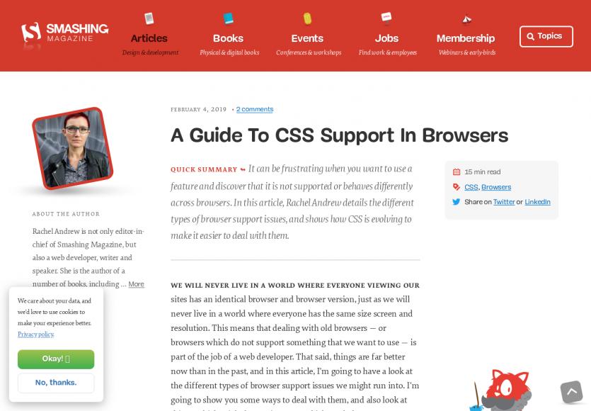 Un guide pour le support CSS dans les navigateurs