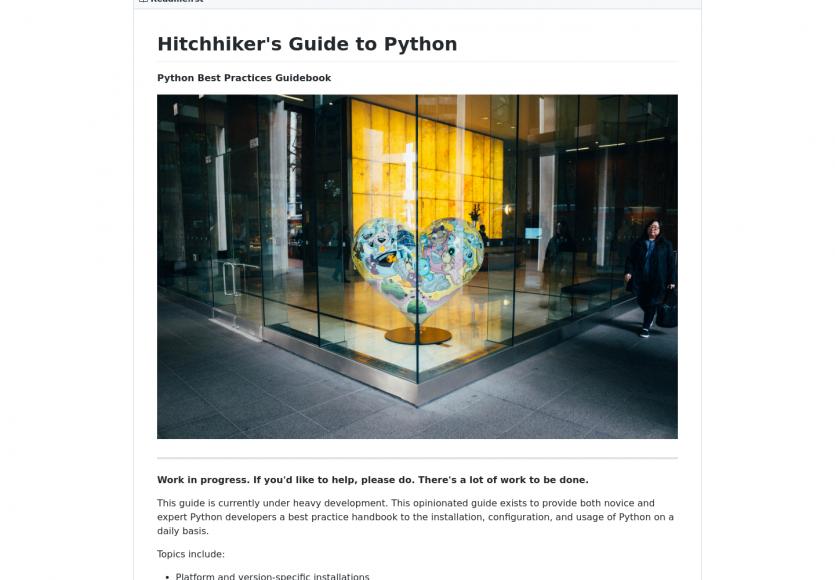 Un guide pour apprendre les bonnes pratiques Python