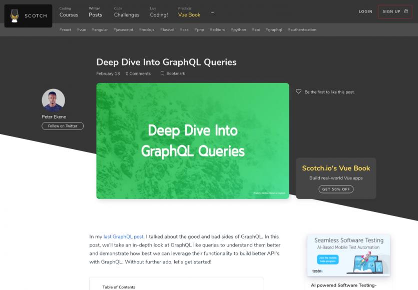 Focus sur les requêtes GraphQL