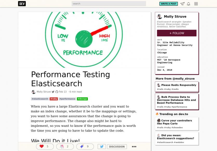 Tester la performance de votre ElasticSearch