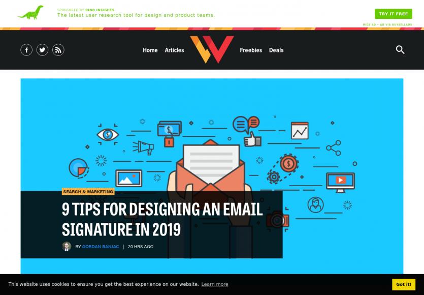 9 astuces pour designer une signature d'email en 2019