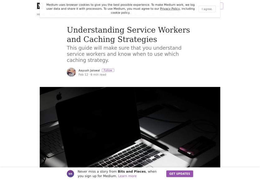 Comprendre les Services Workers et les stratégies de cache