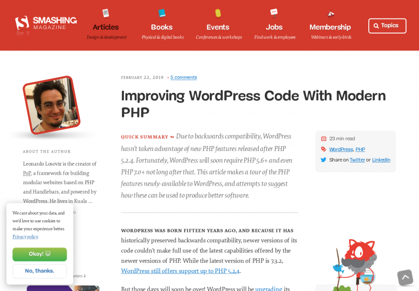 Améliorer WordPress avec du code PHP moderne
