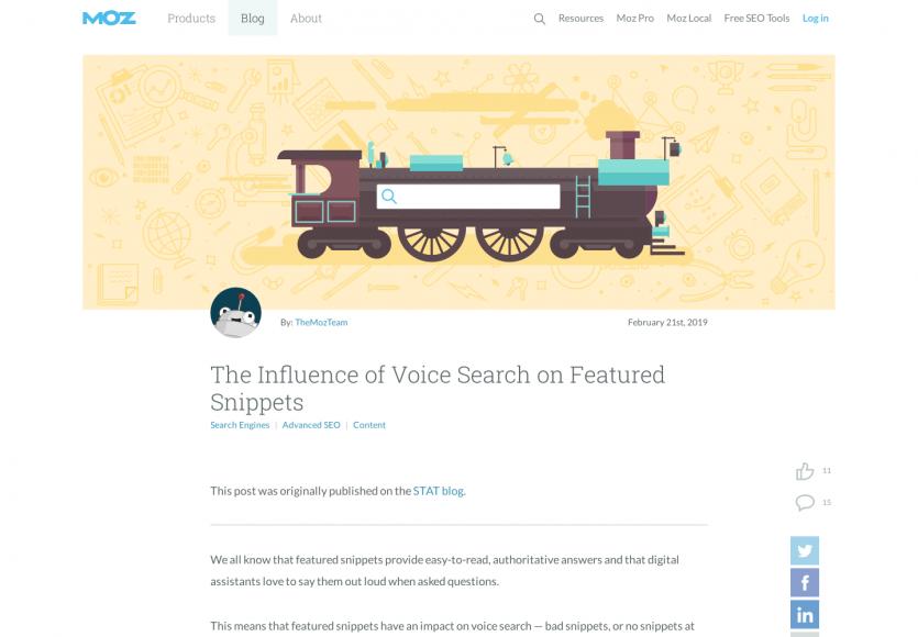 SEO : influence de la recherche vocale sur les featured snippets