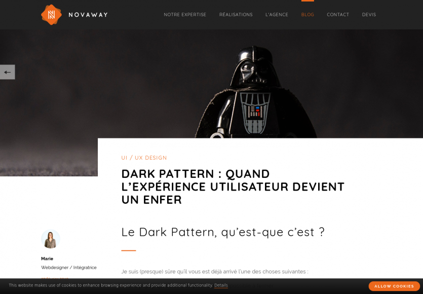 Design : 12 types de dark patterns qui font fuir les utilisateurs