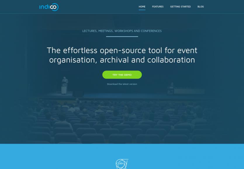 Indico : une plateforme opensource pour gérer facilement de grands événements