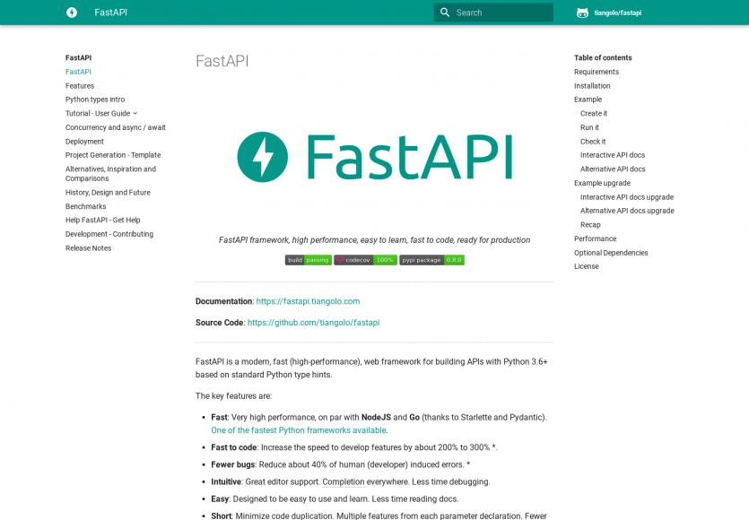 FastAPI : un framework Python pour créer rapidement des API performantes