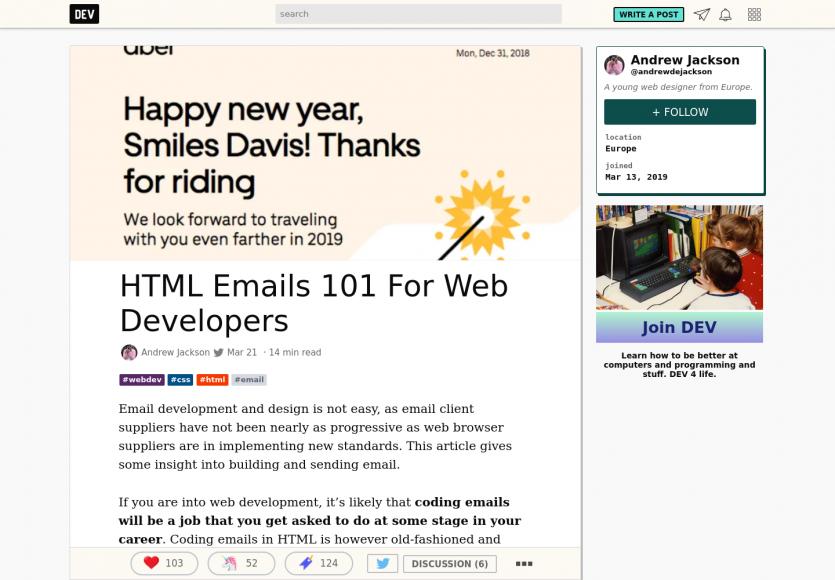 Un guide complet sur la création d'emails HTML efficaces