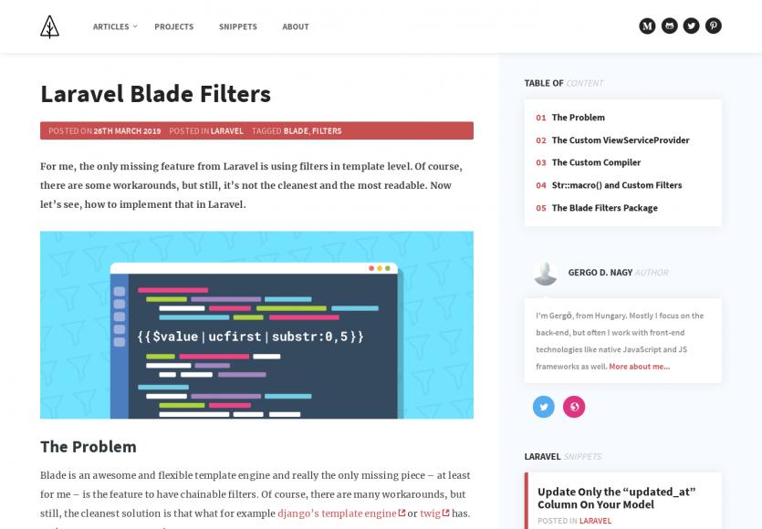 Créer des filtres dans vos templates Blade pour Laravel