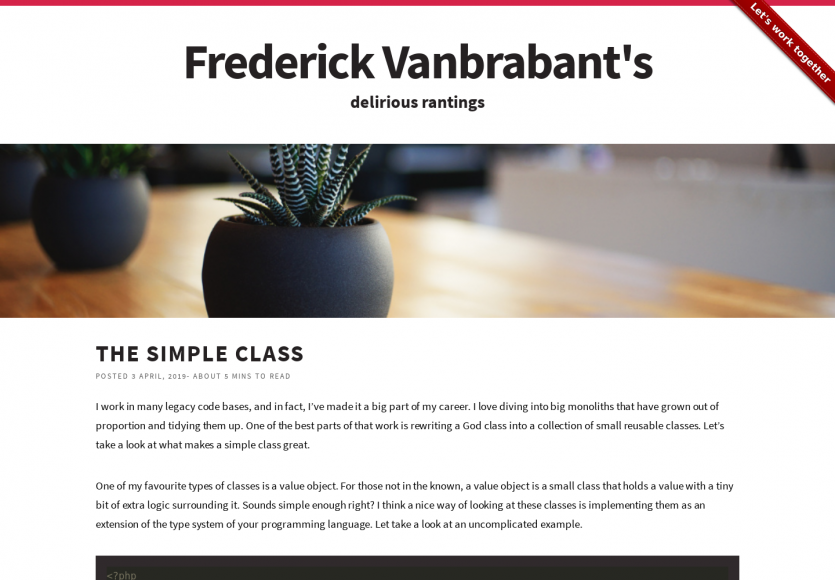 The Simple Class: quelques astuces de POO en PHP