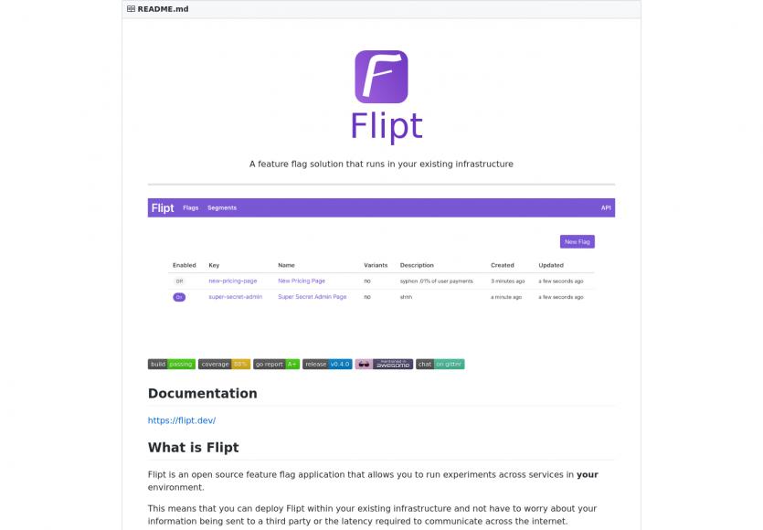 Flipt : une plateforme de feature flag en Go adaptée à tous vos projets