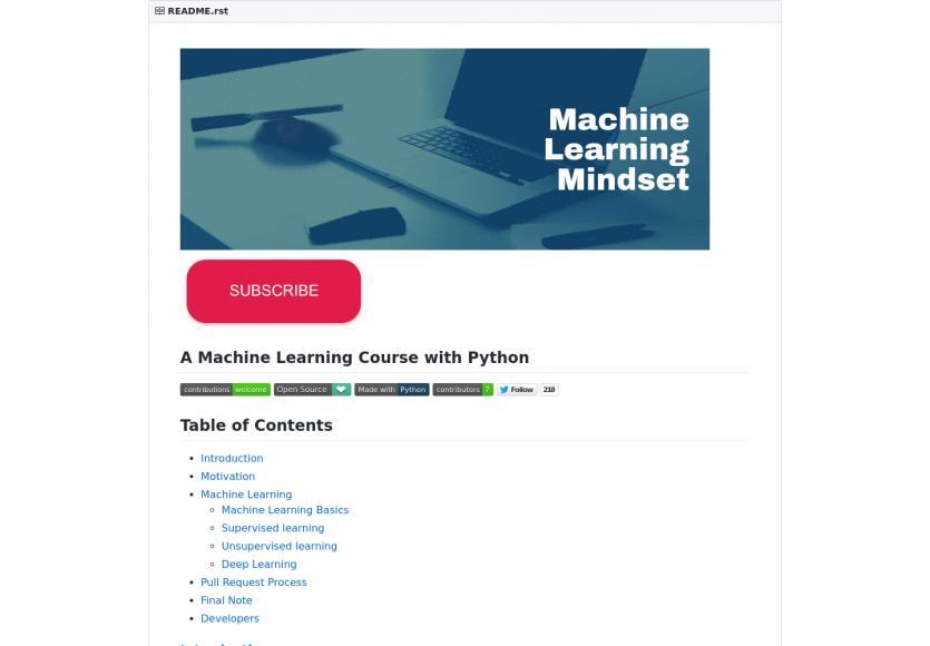 Un tutoriel gratuit sur le machine learning avec Python