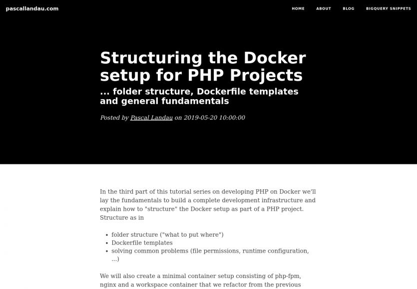 Comment structurer une installation Docker pour vos projets PHP