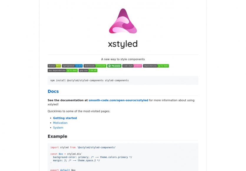 xstyled : une nouvelle façon de styliser vos composants