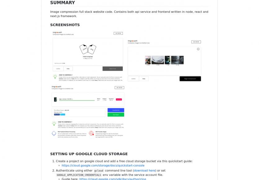 Imgsquash : compressez vos images en ligne grâce à une plateforme en microservice