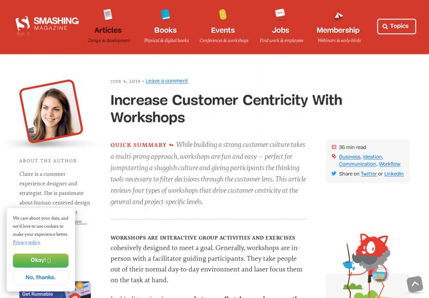 Améliorer l'approche customer centric grâce à des ateliers