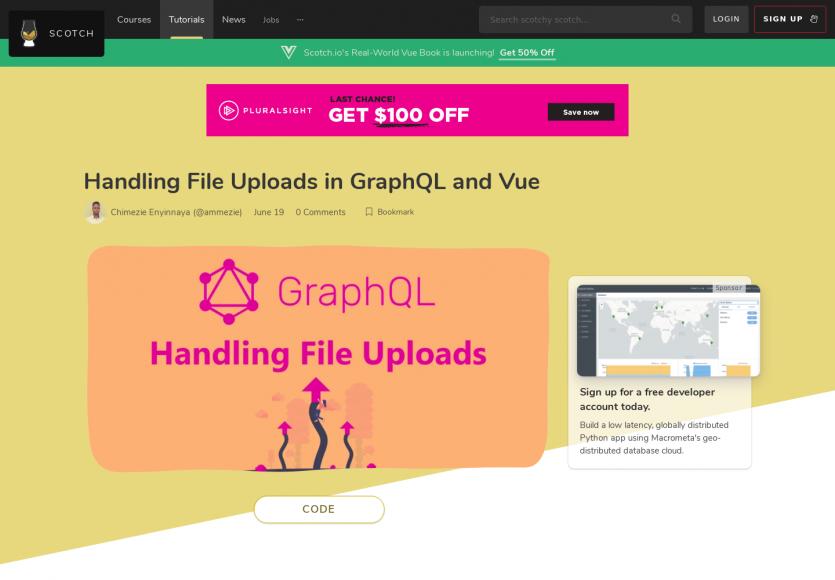 Gérer de l'upload de fichiers avec Vue.js et GraphQL