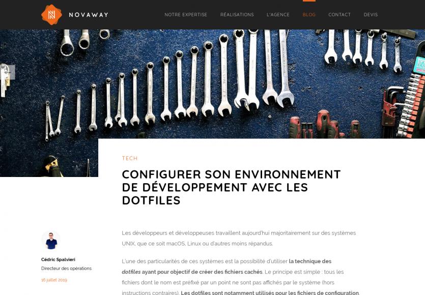 Paramétrer son environnement de développement avec les dotfiles