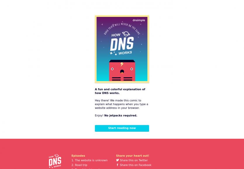 Une BD animée pour comprendre comment fonctionne un DNS
