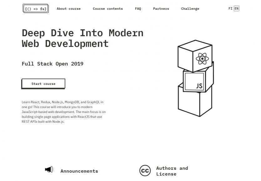Un tutoriel gratuit sur le développement web moderne