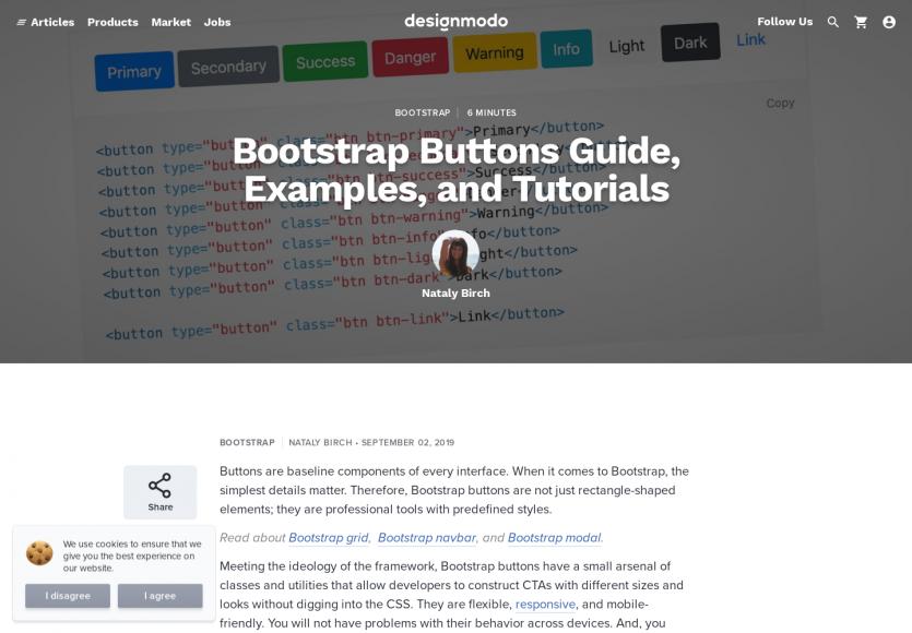 Boutons bootstrap : un focus complet sur les bootstrap buttons