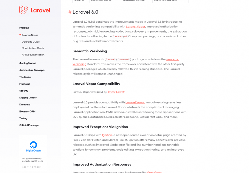 Laravel 6.0 : la nouvelle version majeure du framework PHP est disponible
