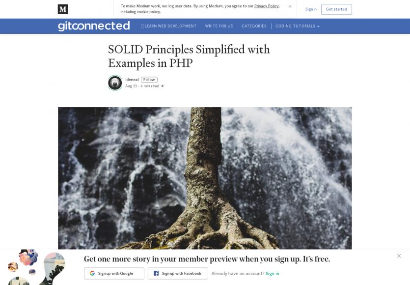 Le principe SOLID avec des exemples PHP concrets