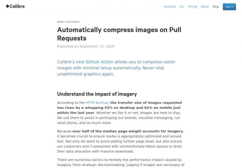 Compression automatique des images lors des Pull Requests