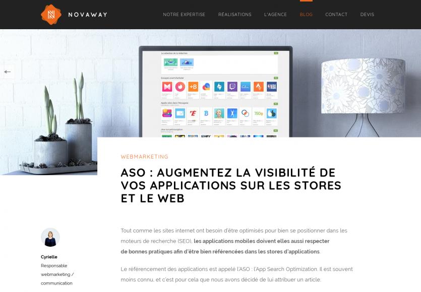 ASO : améliorez la visibilité de votre app sur les stores et le web