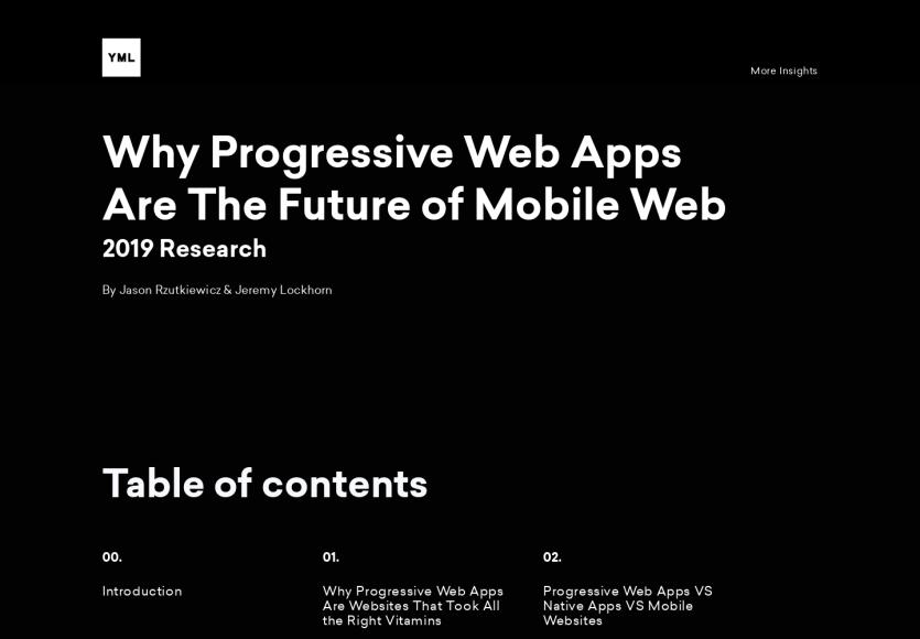Pourquoi les Progressive Web Apps sont le futur du web mobile