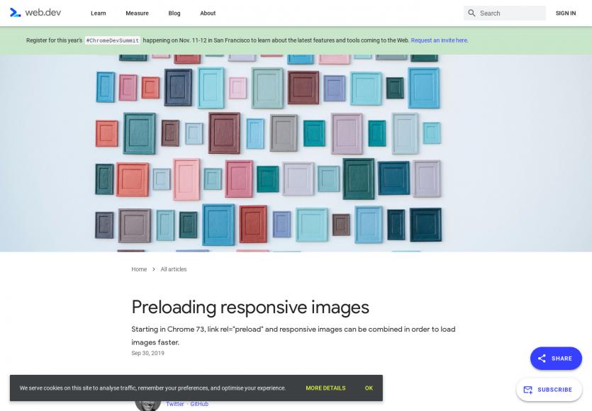 Preload d'images responsives pour améliorer les webperfs