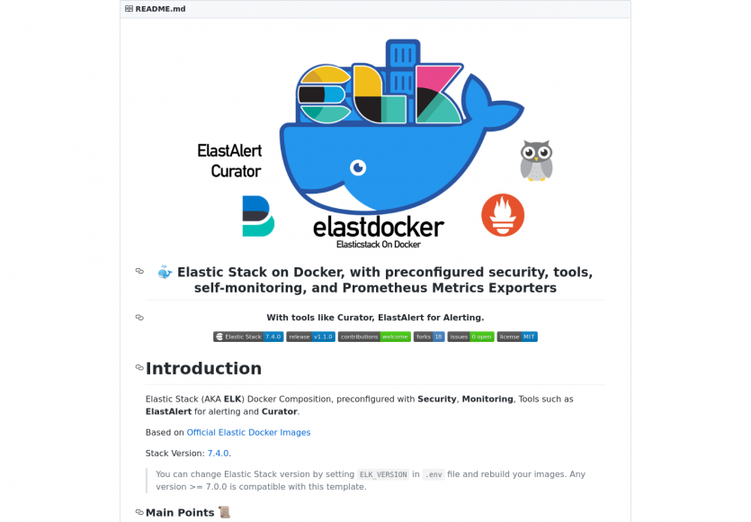Elastdocker : la stack Elastic ELK préconfigurée avec sécurité et monitoring sur Docker