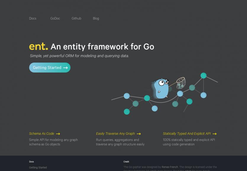 Ent : un framework d'entités et ORM pour Go conçu par Facebook