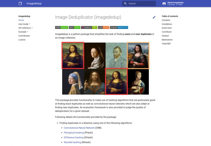 Image Deduplicator : un module Python pour détecter vos images en doublon ou très proches
