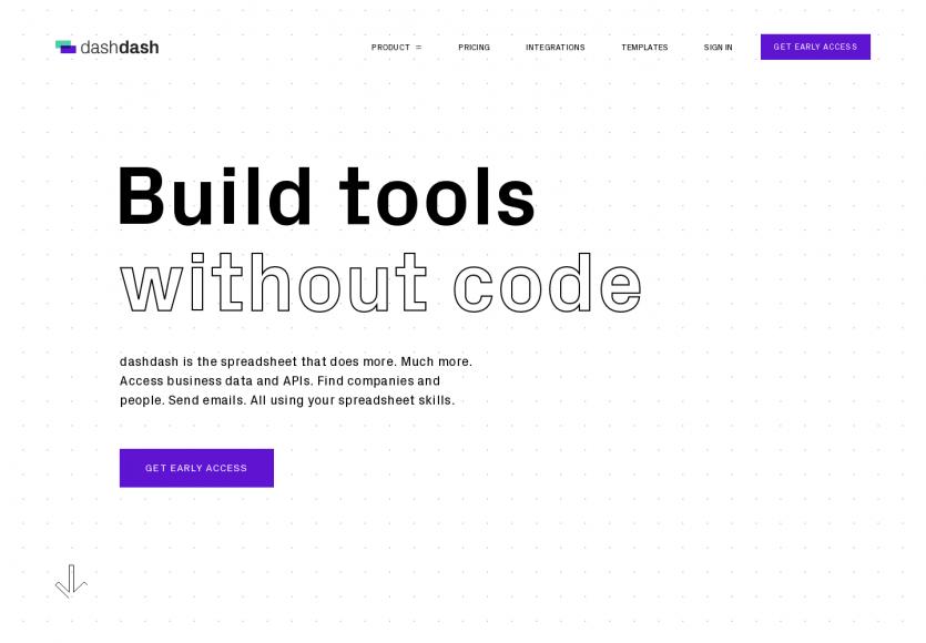 Dashdash : un outil de feuilles Excel survitaminées avec connexion aux API et automatisation