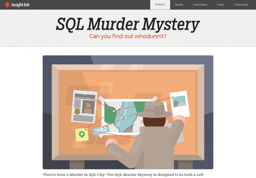 SQL Murder Mystery: une énigme à résoudre à coup de SQL
