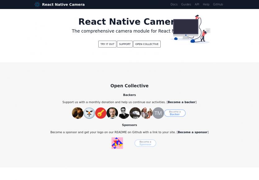 React Native Camera: Un composant pour manipuler facilement la camera dans vos app